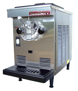 Model 407, two 4 oz servings per minute, 7 qt capacity