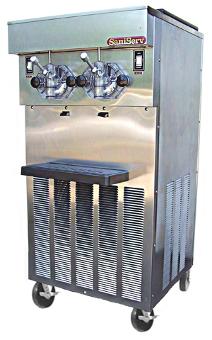 Model 624, five 16 oz servings per minute per side, 20 qt capacity per side