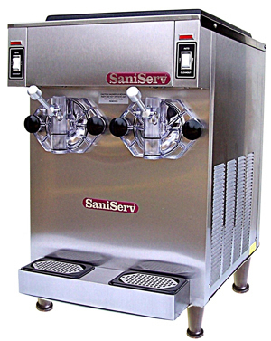 Model 691, two 12 oz shakes per minute per side, 14 qt capacity per side