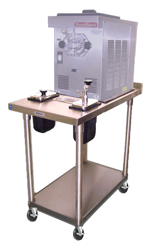 Stainless Steel Equipment Stands with Syrup Dispenser